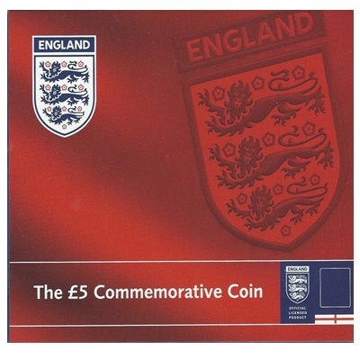 2004 BU £5 Coin Pack - England Football Team
